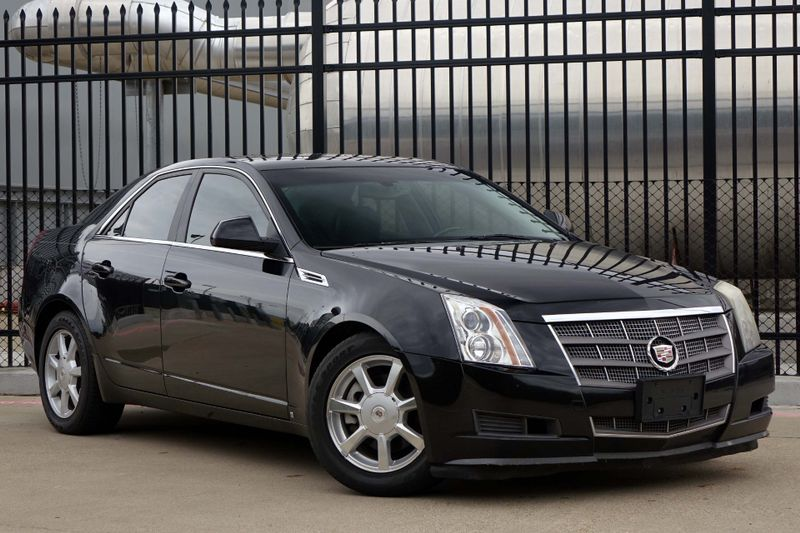 2009 Cadillac Cts Rwd W 1sa Leather Sunroof Ez Finance Plano