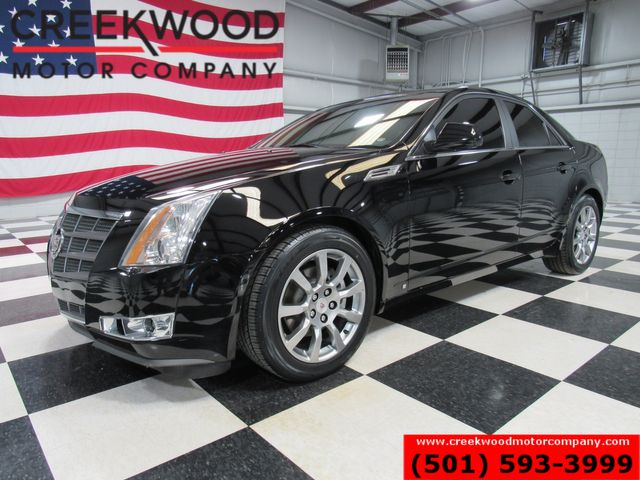 2009 Cadillac CTS Luxury Black New Tires Low Miles Leather Sunroof