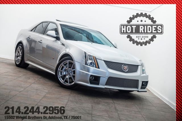 2009 Cadillac CTS-V Sedan 6-Speed Manual