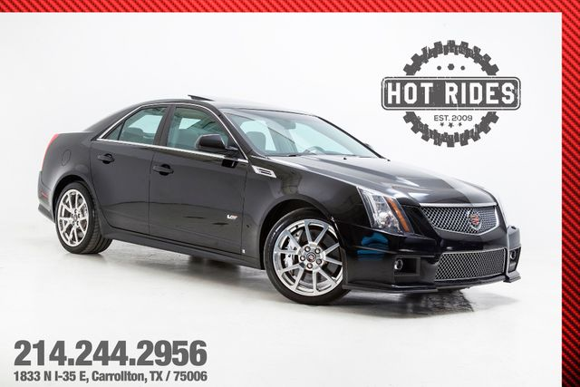 2009 Cadillac CTS-V Sedan 6-Speed