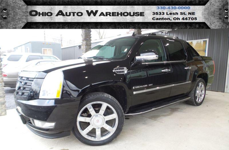 2009 Cadillac Escalade EXT Base AWD Navi Sunroof V8 Leather We Finance   Canton, Ohio   Ohio Auto Warehouse LLC in Canton Ohio