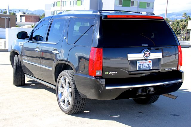 2009 Cadillac Escalade Hybrid Platinum Edition Reseda, CA 4