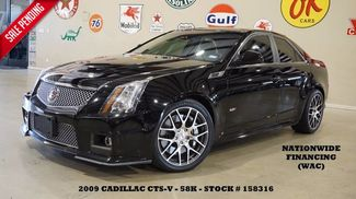 2009 Cadillac V-Series Sedan ULTRA ROOF,NAV,HTD LTH,TSW WHLS,58K,WE FI... in Carrollton TX, 75006