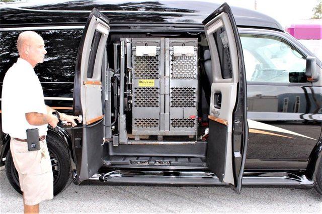 2009 Chevrolet 1500 Express Cargo Van Wheelchair Van Handicap Ramp Van Pinellas Park, Florida 4