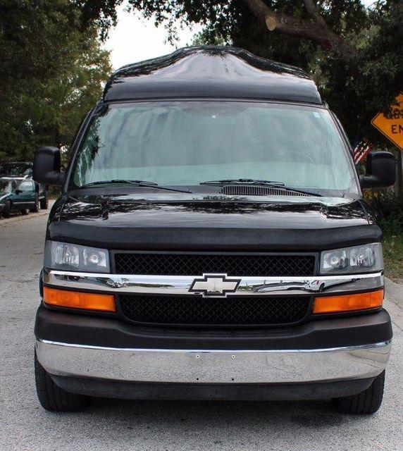 2009 Chevrolet 1500 Express Cargo Van Wheelchair Van Handicap Ramp Van Pinellas Park, Florida 7