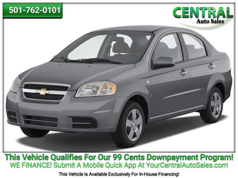 Central Auto Sales >> 2009 Chevrolet Aveo Lt W 1lt Hot Springs Ar Central