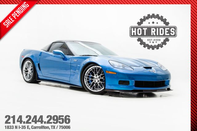 2009 Chevrolet Corvette ZR1 3ZR In Jetstream Blue