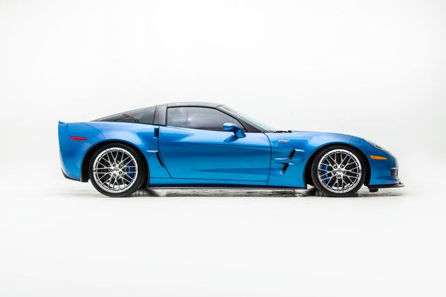 2009 Chevrolet Corvette ZR1 3ZR In Jetstream Blue in , TX 75006