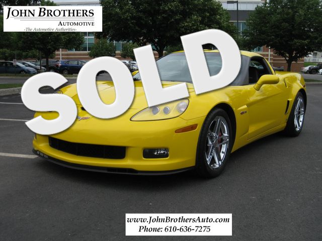 2009 Sold Chevrolet Corvette Z06 Conshohocken, Pennsylvania