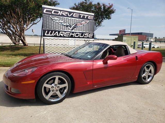 2009 Chevrolet Corvette Convertible 3LT, NAV, Power Top, Chromes 71k in Dallas, Texas 75220
