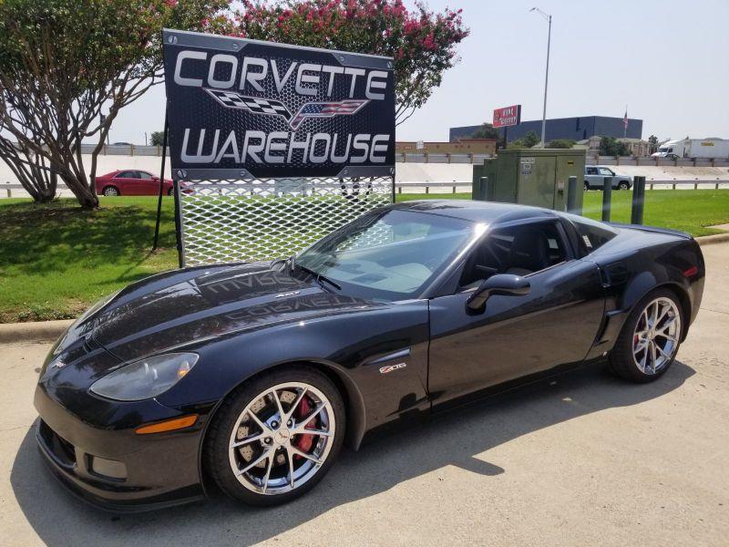 2009 Chevrolet Corvette Z06 3LZ, NAV, NPP, Spyder Chrome Wheels! | Dallas, Texas | Corvette Warehouse
