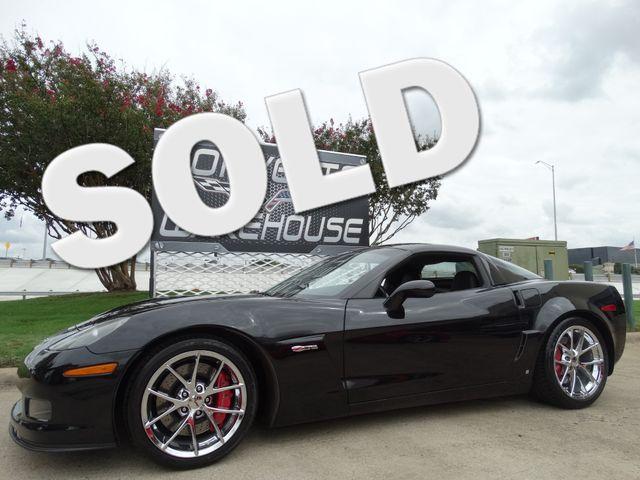 2009 Chevrolet Corvette Z06 Hardtop 3LZ, NAV, Spyder Chromes 31k! | Dallas, Texas | Corvette Warehouse  in Dallas Texas