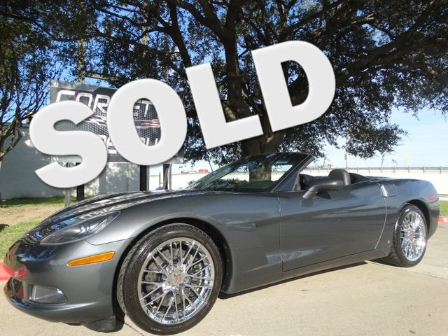 2009 Chevrolet Corvette Convertible 3LT, F55, NAV, Auto, ZR1 Chromes 53k! | Dallas, Texas | Corvette Warehouse  in Dallas Texas