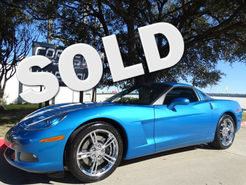 2009 Chevrolet Corvette Coupe Z51, Auto, Chrome Wheels, Only 23k!   Dallas, Texas   Corvette Warehouse
