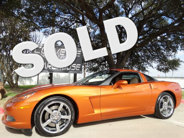 2009 Chevrolet Corvette Coupe 3LT, F55, NAV, NPP, Auto, Chromes, Only 32k! | Dallas, Texas | Corvette Warehouse  in Dallas Texas