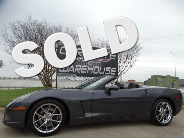 2009 Chevrolet Corvette 3LT, Z51, 6 Speed,  NPP, Spyder Chromes, 22k! | Dallas, Texas | Corvette Warehouse  in Dallas Texas
