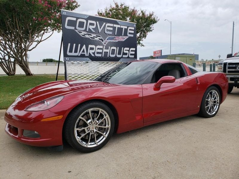 2009 Chevrolet Corvette Coupe 2LT, Auto, Spyder Chrome Wheels, Only 68k! | Dallas, Texas | Corvette Warehouse