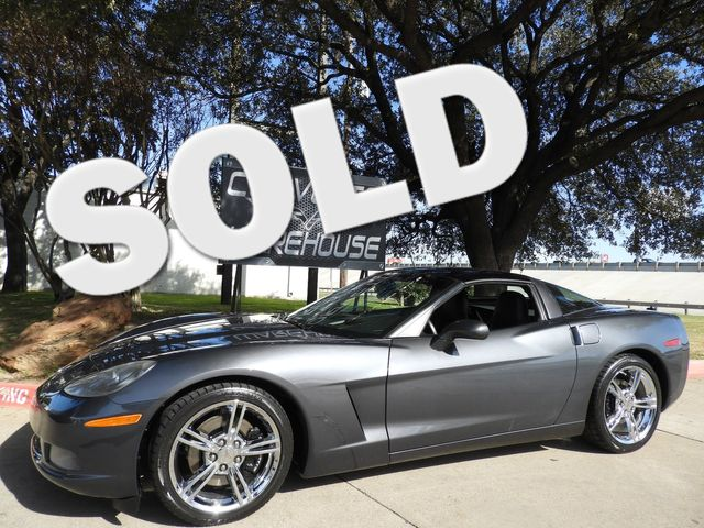 2009 Chevrolet Corvette Coupe 3LT, NAV, Glass Top, Z06 Chromes, 1-Owner! | Dallas, Texas | Corvette Warehouse  in Dallas Texas