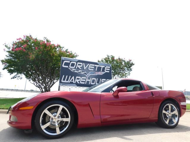 2009 Chevrolet Corvette Coupe 3LT, Z51, NAV, NPP, Chromes, NICE in Dallas, Texas 75220