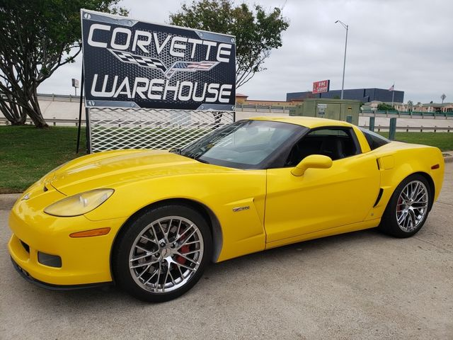 2009 Chevrolet Corvette Z06 Hardtop 2LZ, ZR1 Chromes, Nice in Dallas, Texas 75220