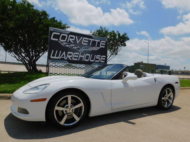 2009 Chevrolet Corvette Convertible 3LT, Z51, 6-Speed, Chromes, 40k