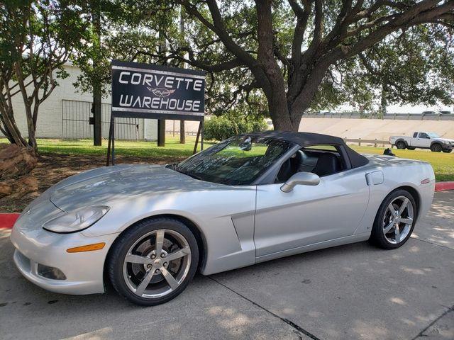 2009 Chevrolet Corvette Convertible 3LT, Z51, NAV, Auto, Chrome Wheels 19k