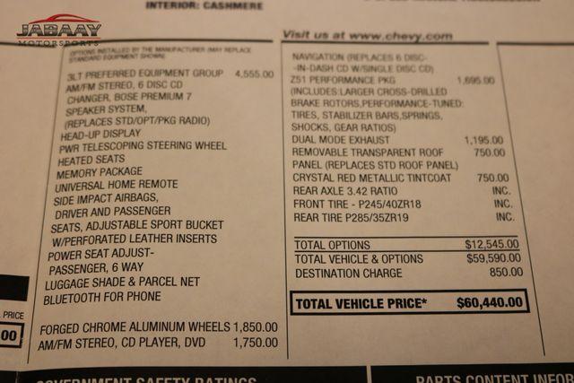 2009 Chevrolet Corvette w/3LT Merrillville, Indiana 49