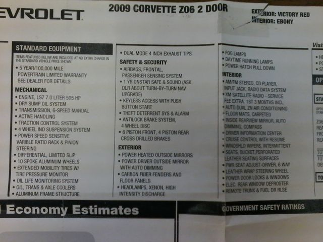 2009 Chevrolet Corvette Z06 w/1LZ San Antonio, Texas 39