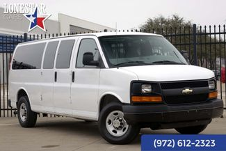 2009 Chevrolet Express 15 Passenger Clean Carfax Rear Air in Plano Texas, 75093