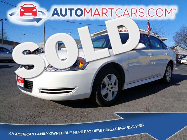 2009 Chevrolet Impala LS | Nashville, Tennessee | Auto Mart Used Cars Inc. in Nashville Tennessee