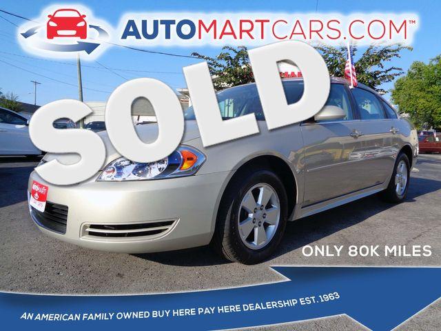 2009 Chevrolet Impala 3.5L LT   Nashville, Tennessee   Auto Mart Used Cars Inc. in Nashville Tennessee
