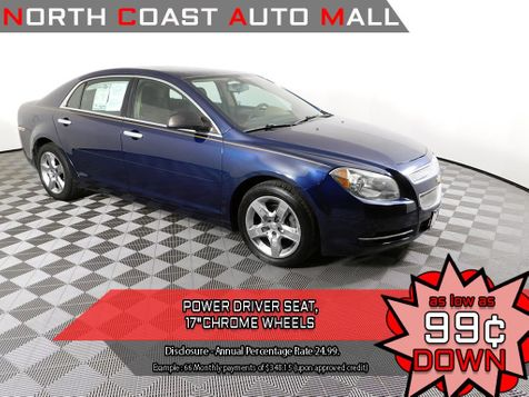 2009 Chevrolet Malibu LS w/1LSAs low as $799 DOWN in Cleveland, Ohio