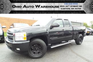 2009 Chevrolet Silverado 1500 LTZ 4x4 Leather V8 Clean Carfax We Finance | Canton, Ohio | Ohio Auto Warehouse LLC in Canton Ohio