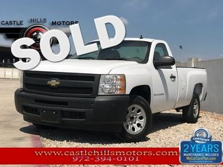 2009 Chevrolet Silverado 1500 Work Truck   Lewisville, Texas   Castle Hills Motors in Lewisville Texas