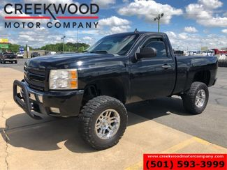 2009 Chevrolet Silverado 1500 LT 4x4 Z71 Regular Cab Black Lifted New Tires 18s in Searcy, AR 72143