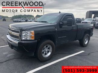 2009 Chevrolet Silverado 1500 LS LT 4x4 Regular Cab Black Low Miles Chrome CLEAN in Searcy, AR 72143