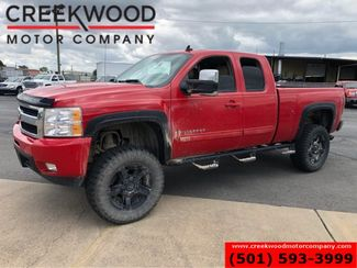 2009 Chevrolet Silverado 1500 LTZ 4x4 Red Lifted New Tires Leather Black 20s in Searcy, AR 72143