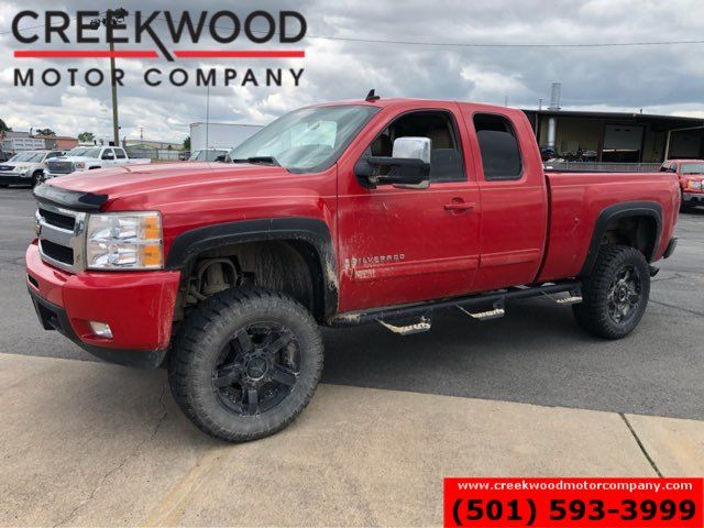 2009 Chevrolet Silverado 1500 LTZ 4x4 Red Lifted New Tires Leather Black 20s