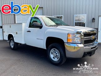 2009 Chevrolet Silverado 2500hd 4X4 REG CAB W/T UTILITY 1-OWNER 45K MILES WOW in Woodbury, New Jersey 08093