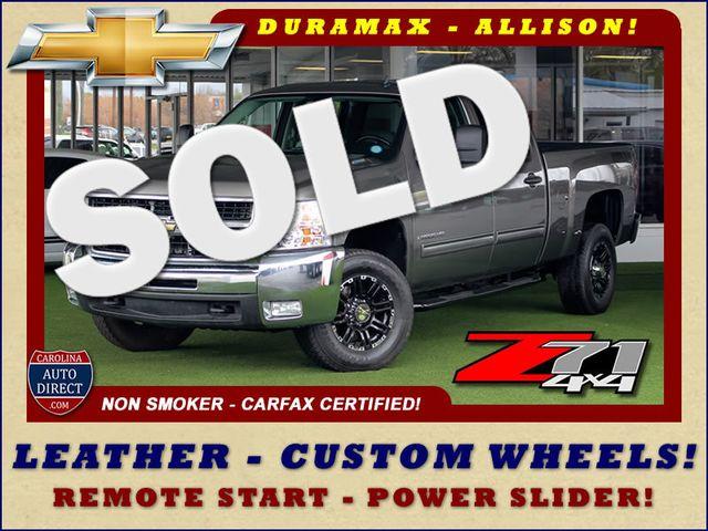 2009 Chevrolet Silverado 2500HD LT Crew Cab 4x4 Z71 - LEATHER! Mooresville , NC 0