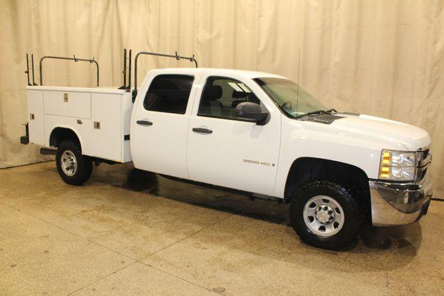 2009 Chevrolet Silverado 3500HD diesel 4x4 SRW Work Truck