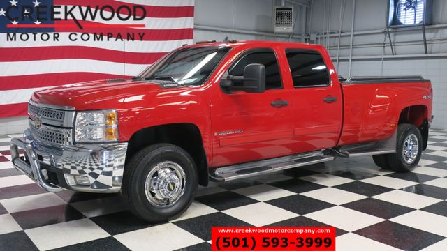 2009 Chevrolet Silverado 3500HD LT 4x4 Dually Diesel Red Chrome Leather NICE in Searcy, AR 72143