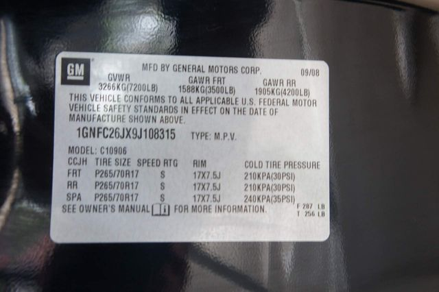 2009 Chevrolet Suburban 1-OWNER * Sunroof * BU CAMERA * DVD * Remote Start in Missoula, MT 59804
