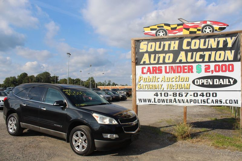 2009 Chevrolet Traverse LT w1LT  city MD  South County Public Auto Auction  in Harwood, MD