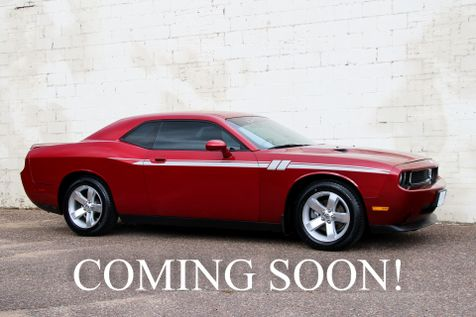 2009 Dodge Challenger SE with High Output V6, Tinted Windows, Power Seat and Only 31,901 Miles in Eau Claire