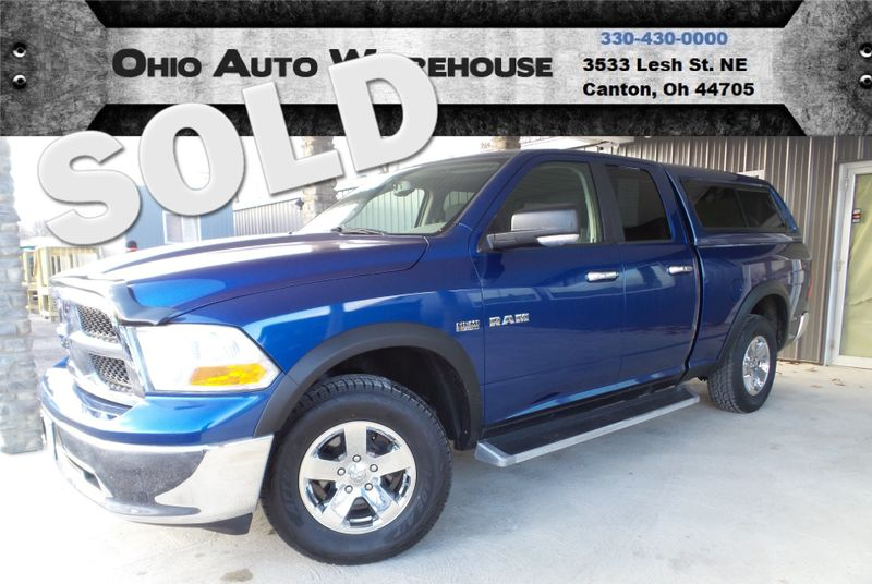 2009 Dodge Ram 1500 SLT 4x4 Quad Cab HEMI V8 We Finance | Canton, Ohio | Ohio Auto Warehouse LLC in Canton Ohio