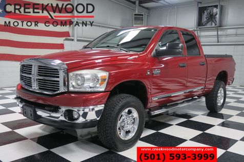 2009 Dodge Ram 2500 SLT 4x4 Red Diesel Automatic Low Miles Chrome NICE in Searcy, AR