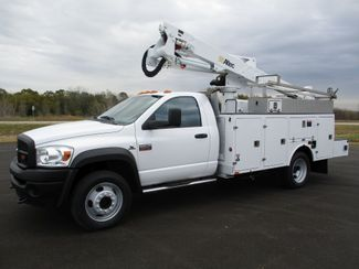 2009 Dodge Ram 5500 4X4 CUMMINS  BUCKET BOOM TRUCK 155K ALTEC AT37G Lake In The Hills, IL