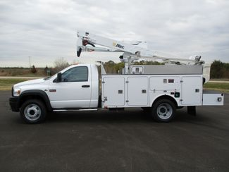 2009 Dodge Ram 5500 4X4 CUMMINS  BUCKET BOOM TRUCK 155K ALTEC AT37G Lake In The Hills, IL 1