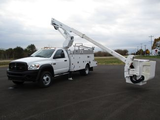 2009 Dodge Ram 5500 4X4 CUMMINS  BUCKET BOOM TRUCK 155K ALTEC AT37G Lake In The Hills, IL 35